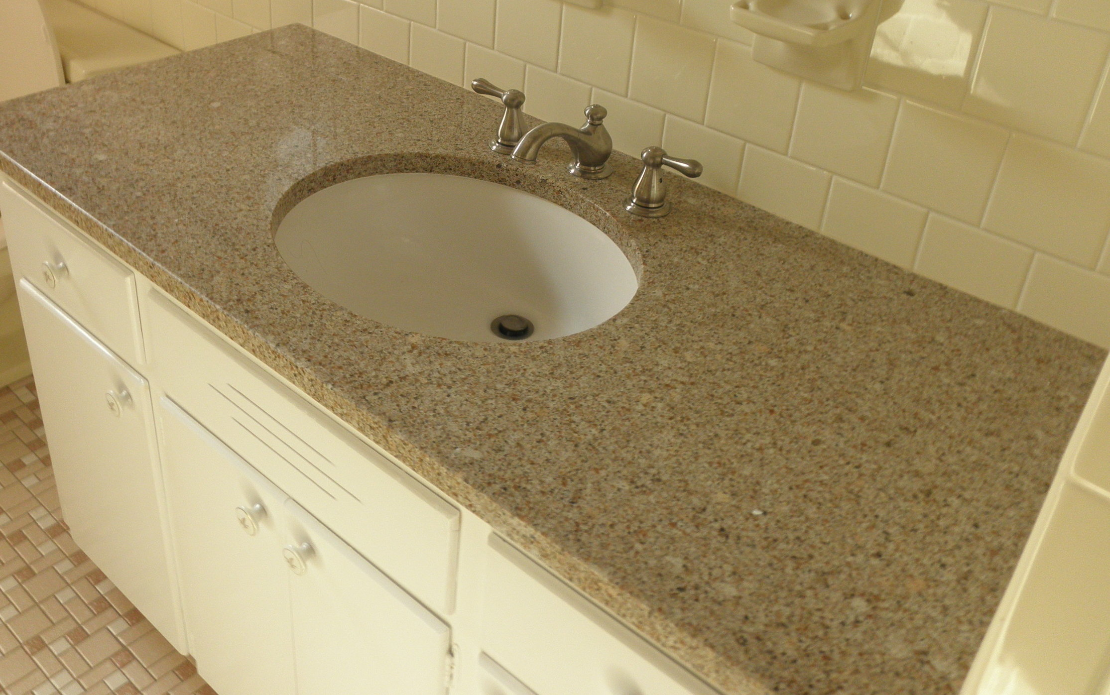 Quartz Countertop Bathroom Furniture